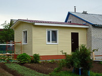 Пристройка к дому из пеноблоков 6х2
