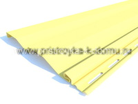 Сайдинг TECOS светло-желтый
